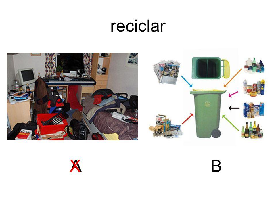 reciclar ABX