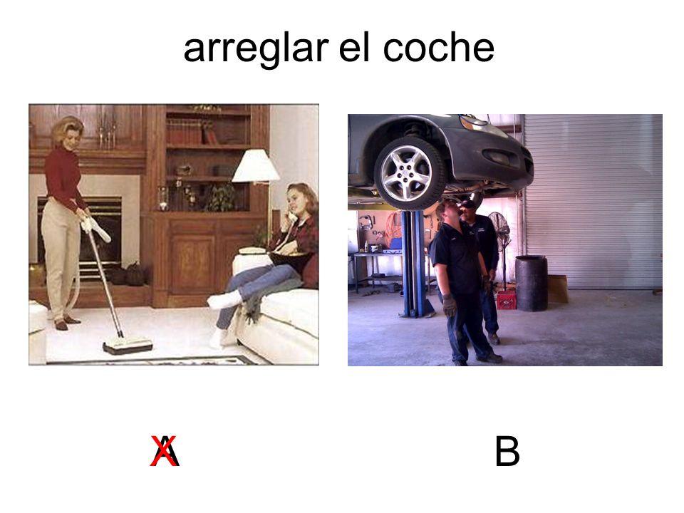 arreglar el coche ABX