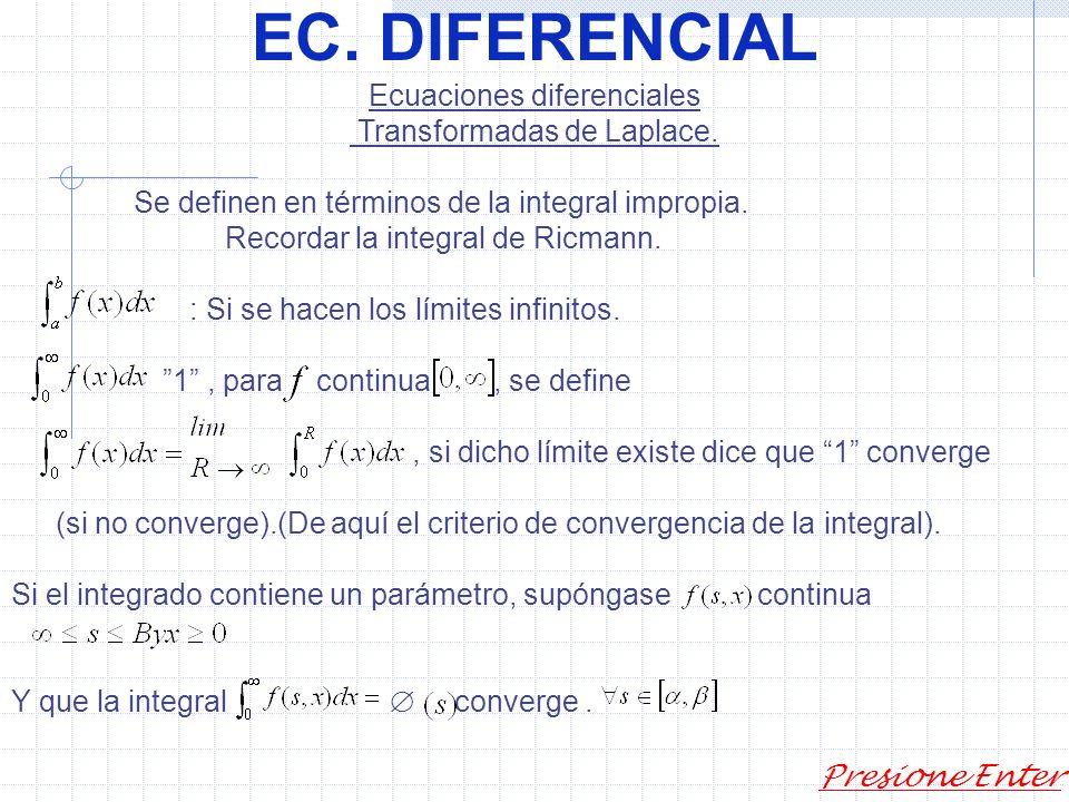 EC. DIFERENCIAL Presione Enter 2)