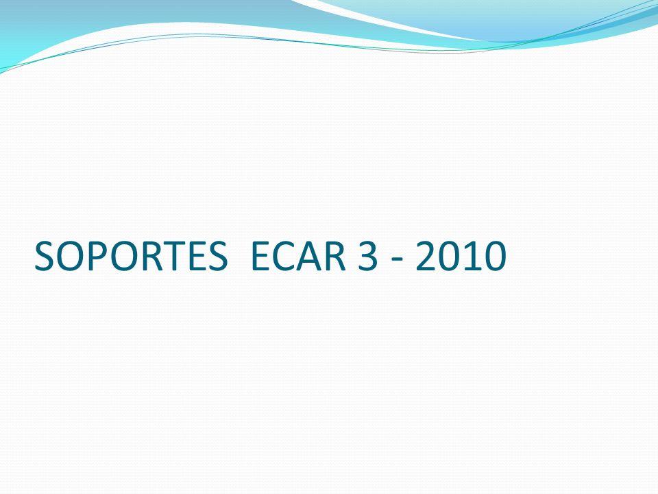 SOPORTES ECAR 3 - 2010