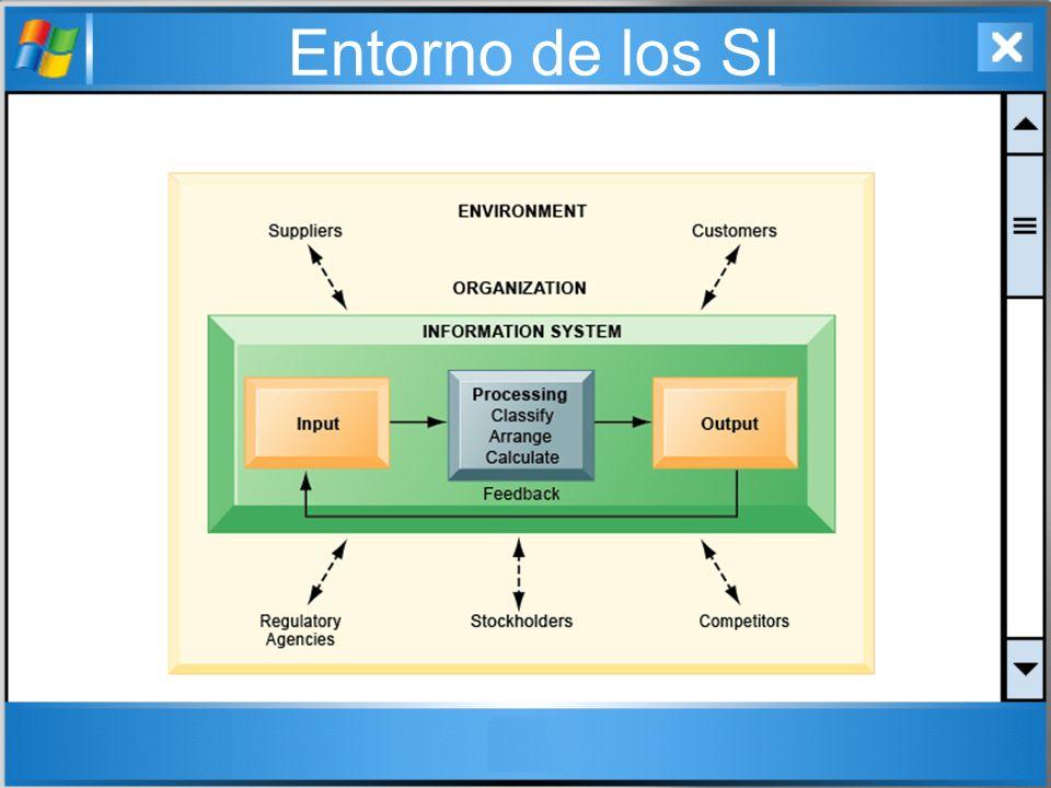 Entorno de los SI