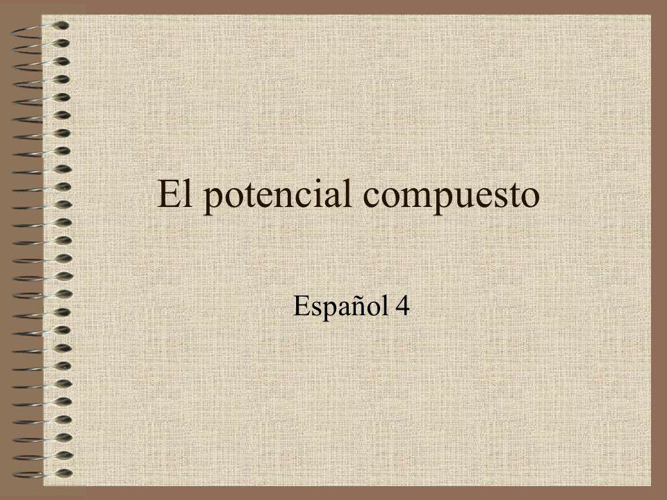 El potencial compuesto Español 4