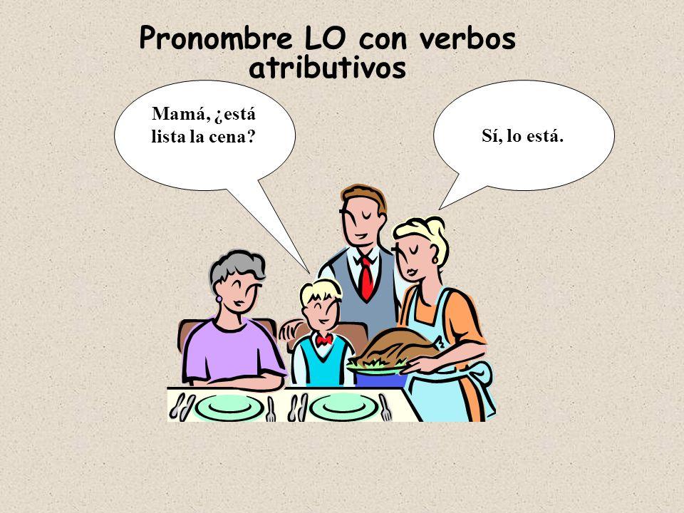 Pronombres usados como Complementos Directos me te lo, la nos os los, las Personas (lo,la)(los, las) Personas y objetos