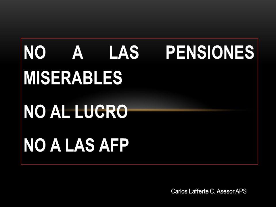 SIETE PORQUE EN LAS ACTUALES CONDICIONES DE FINANCIAMIENTO, MAYORITARIAMENTE ESTATAL Y DE LUCRO PRIVADO, RESULTA JUSTO, DIGNO, BARATO Y CONVENIENTE PARA LAS PERSONAS, UN SISTEMA PÚBLICO DE REPARTO SOLIDARIO DE PENSIONES.