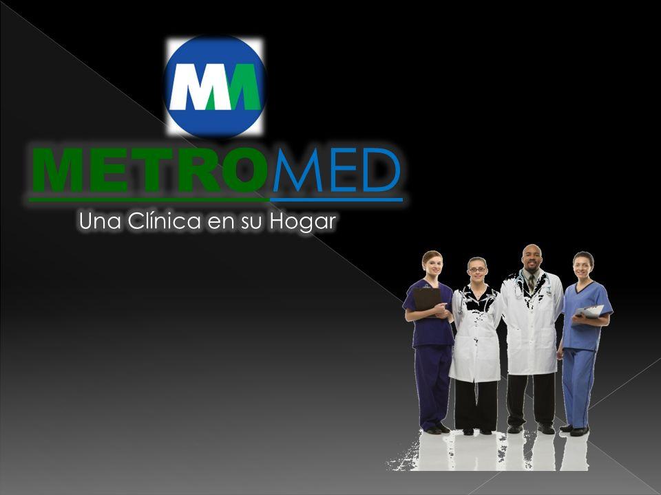 Una empresa prestataria de Servicios de Atención Médica a Domicilio y/o Atención Pre–Hospitalaria, conformada por personal capacitado y con experiencia en el área.