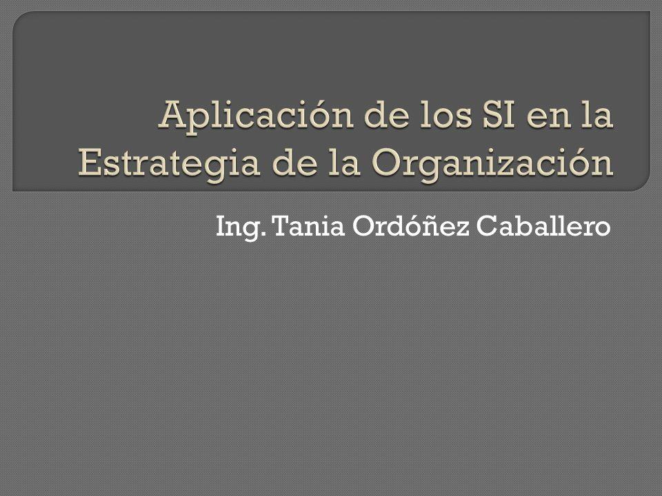 Ing. Tania Ordóñez Caballero