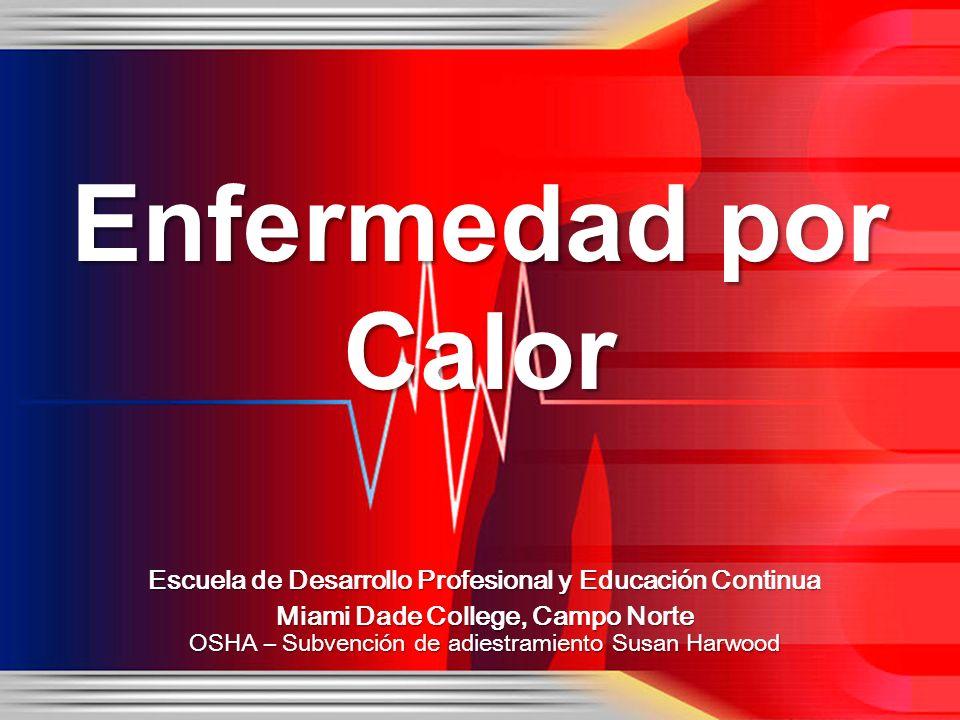 Escuela de Desarrollo Profesional y Educación Continua Miami Dade College, Campo Norte OSHA – Subvención de adiestramiento Susan Harwood Enfermedad po