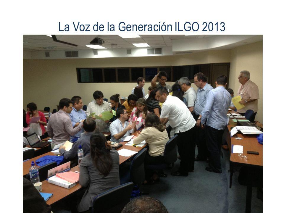 La Voz de la Generación ILGO 2013