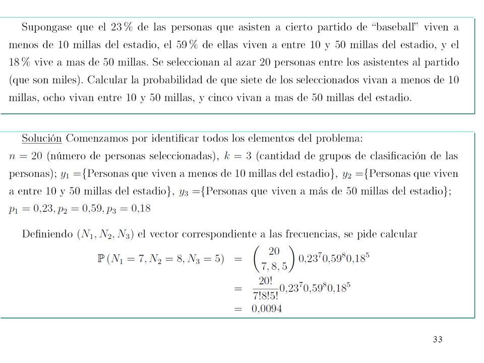 34 ¿Cómo simular de manera sencilla en el ordenador una variable aleatoria binomial X.