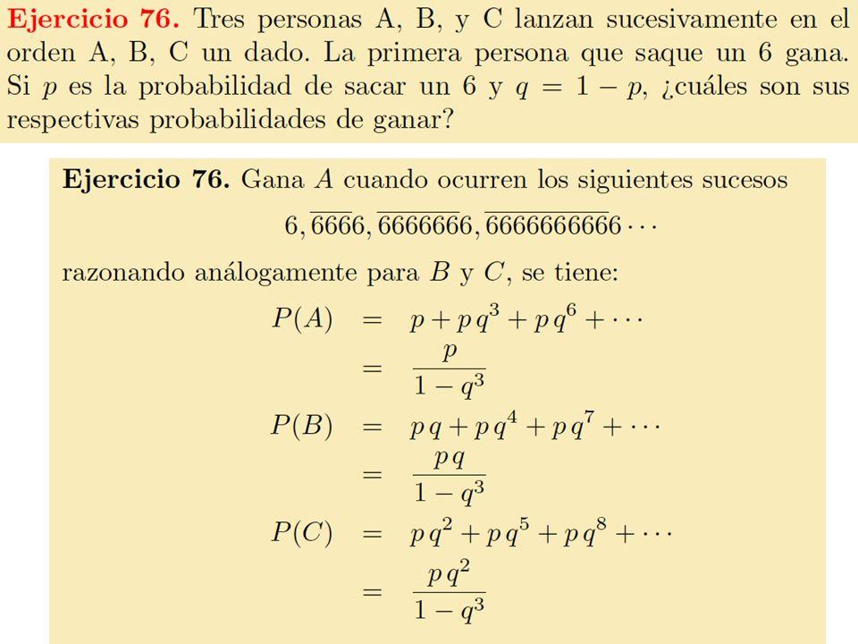 10 Distribución binomial La distribución binomial aparece cuando estamos interesados en el número de veces que un suceso A ocurre (éxitos) en n intentos independientes de un experimento.
