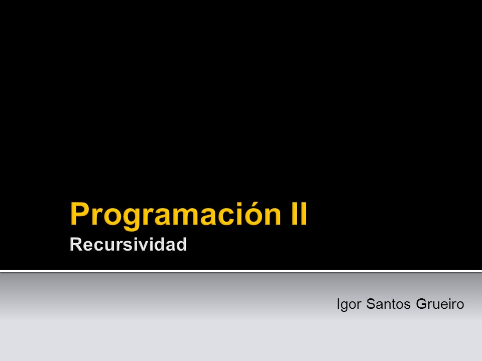 Para entender la recursividad, primero hay que entender lo qué es la recursividad -Un programador anónimo