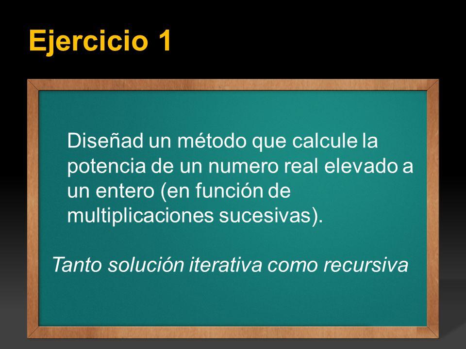 Solución iterativa
