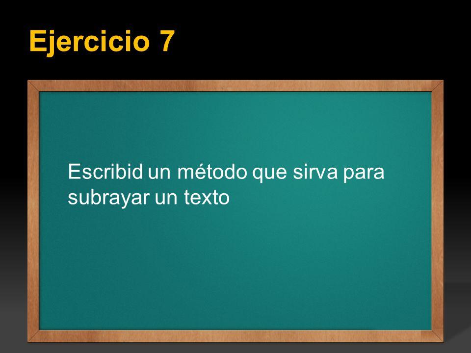 Ejercicio 7 Ejercicio: Escribir un programa que calcule todos los factoriales del 1 hasta el valor entero N que se introduce por teclado, el valor de
