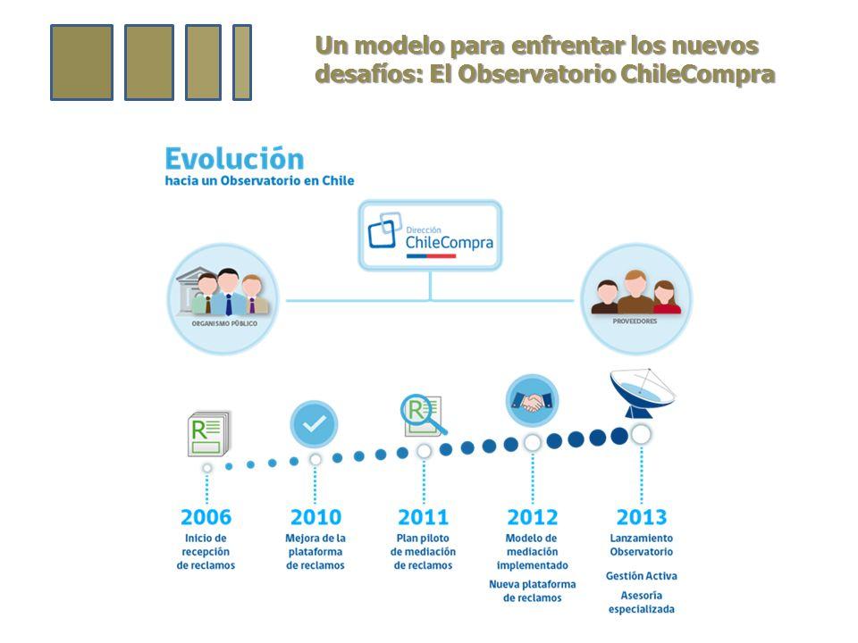 Un modelo para enfrentar los nuevos desafíos: El Observatorio ChileCompra