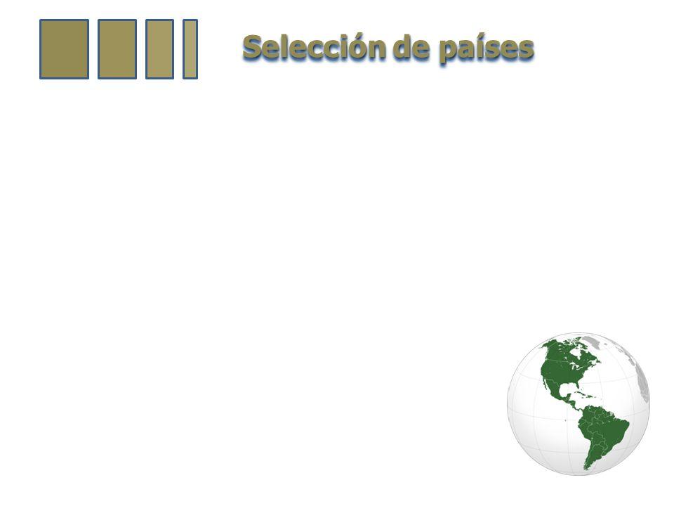Selección de países