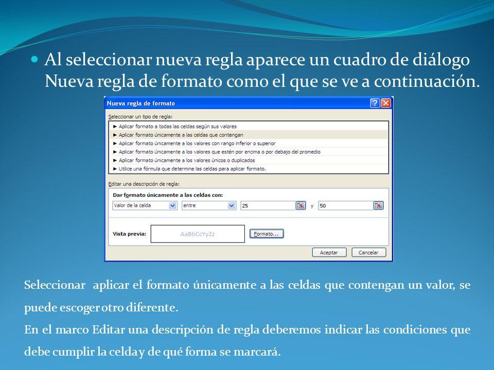 También puede elegir mostrar un mensaje de error que sólo aparecerá cuando el usuario escriba datos no válidos.