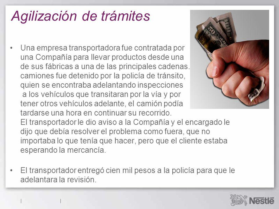 Soborno de particular a particular El soborno no es aceptable, independientemente de si los implicados son funcionarios o particulares.