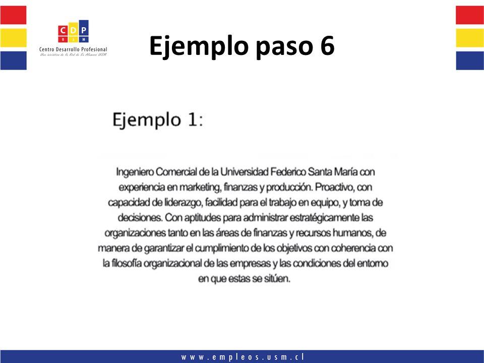Ejemplo paso 6