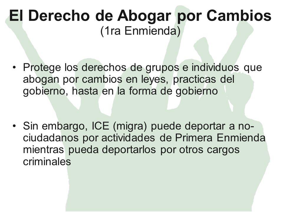 Arresto – ICE (Migra) Razón de Arresto – Información fidedigna que lleve a una persona razonable creer que usted esta en USA sin estatus legal o ha violado su estatus legal.