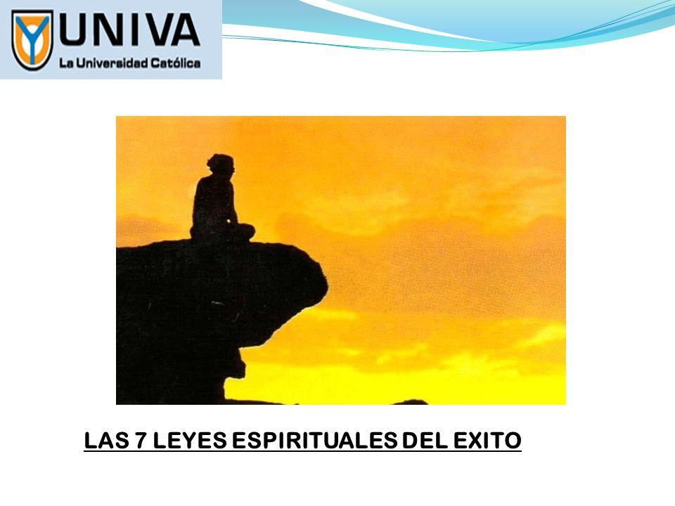 LAS 7 LEYES ESPIRITUALES DEL EXITO MOTIVACION