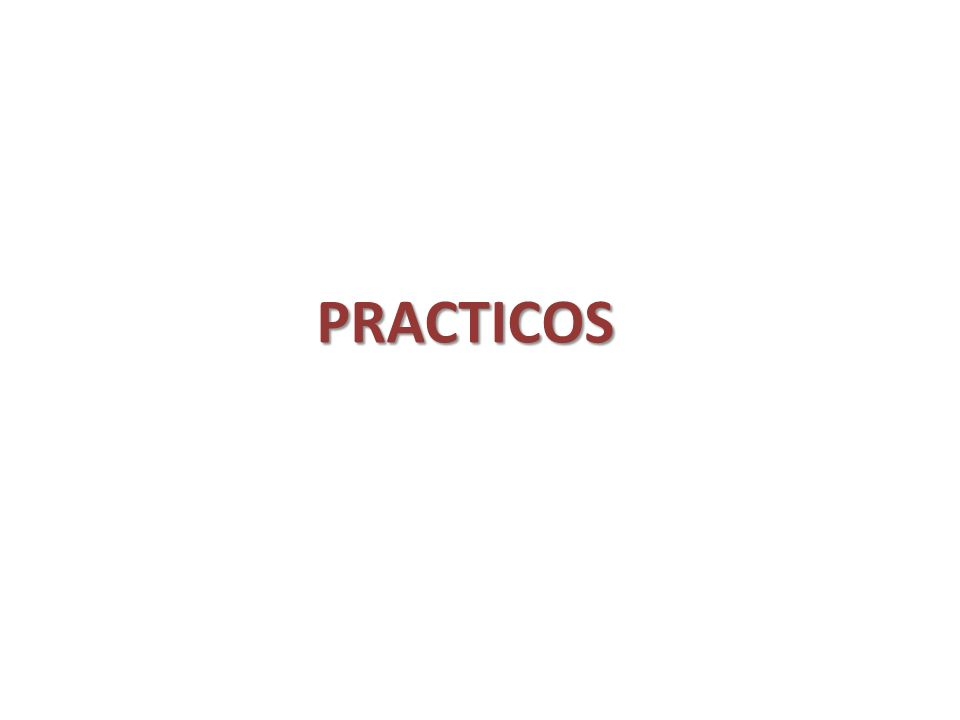 PRACTICOS