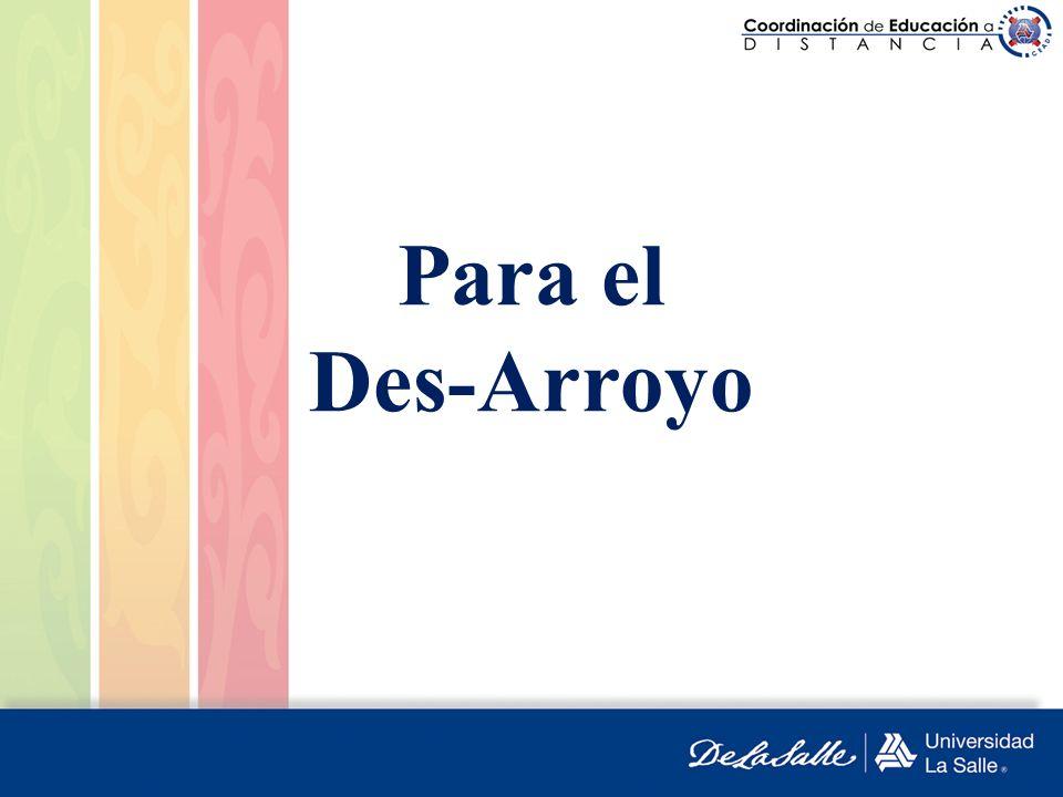 Para el Des-Arroyo