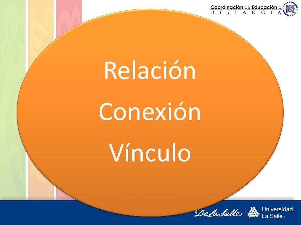 Relación Conexión Vínculo