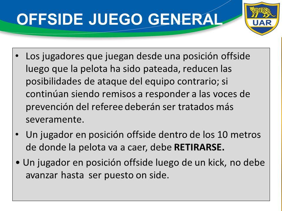 La aplicación de la ventaja no debe afectar la seguridad de los jugadores ni al control del partido.