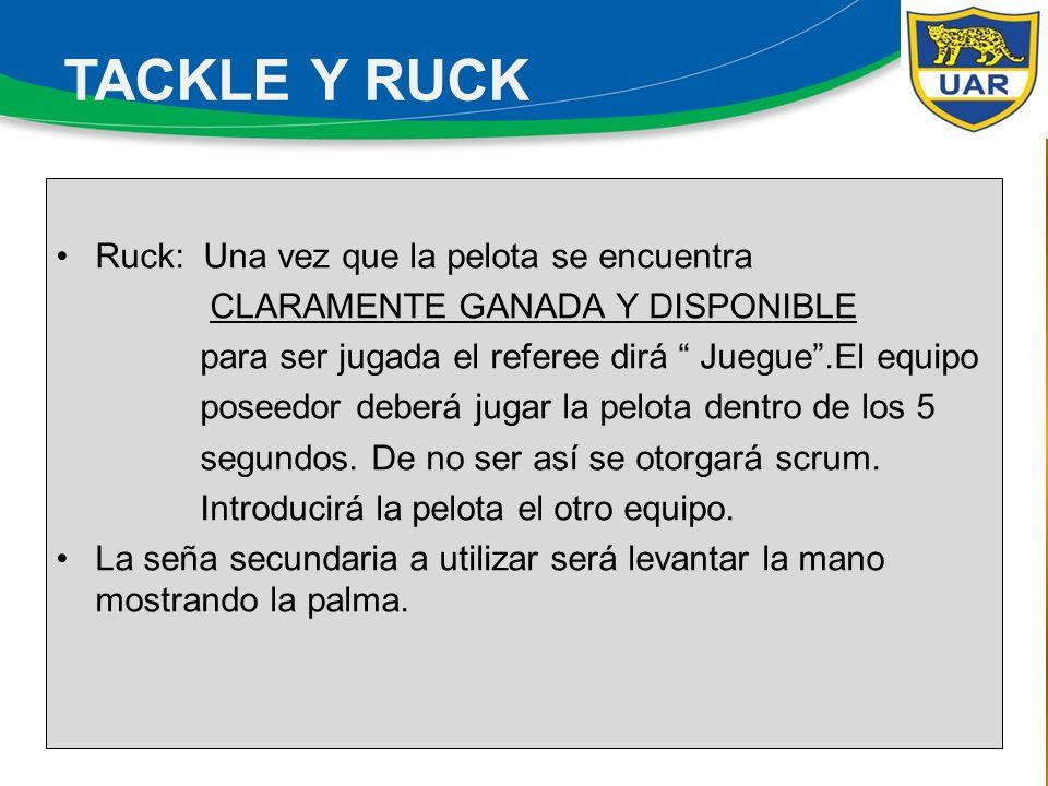 Los Referees Asistentes colaborarán activamente con el referee al indicarle si están dadas o no las condiciones para un tiro rápido.