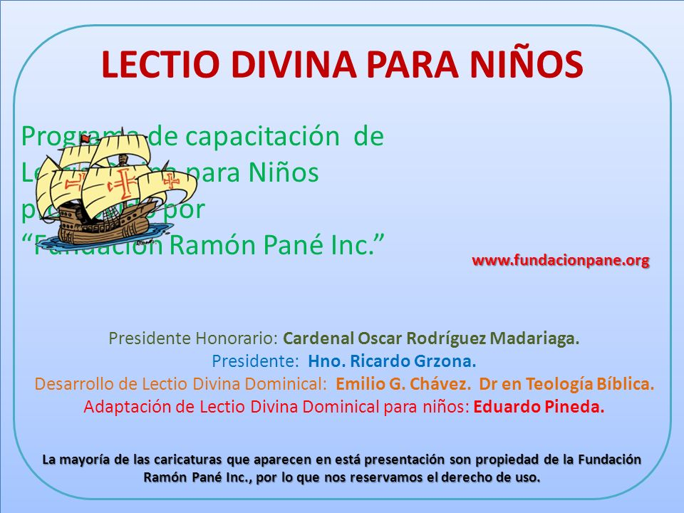 Lectio Divina Vigésimo Séptimo Domingo Del tiempo ordinario.