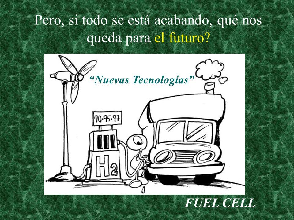 Pero, si todo se está acabando, qué nos queda para el futuro? FUEL CELL Nuevas Tecnologías