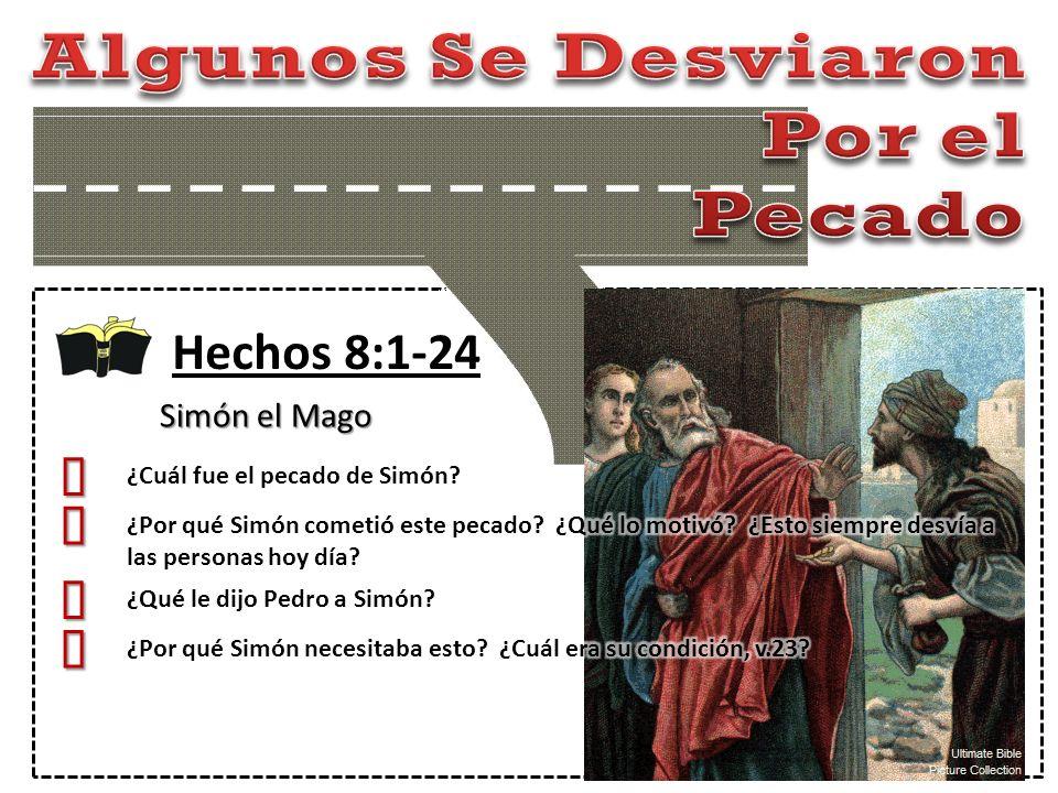 Hechos 8:1-24 Simón el Mago