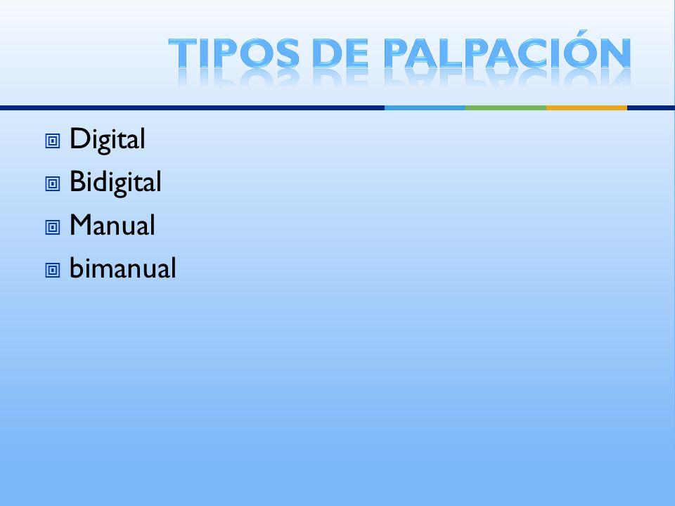 Digital Bidigital Manual bimanual