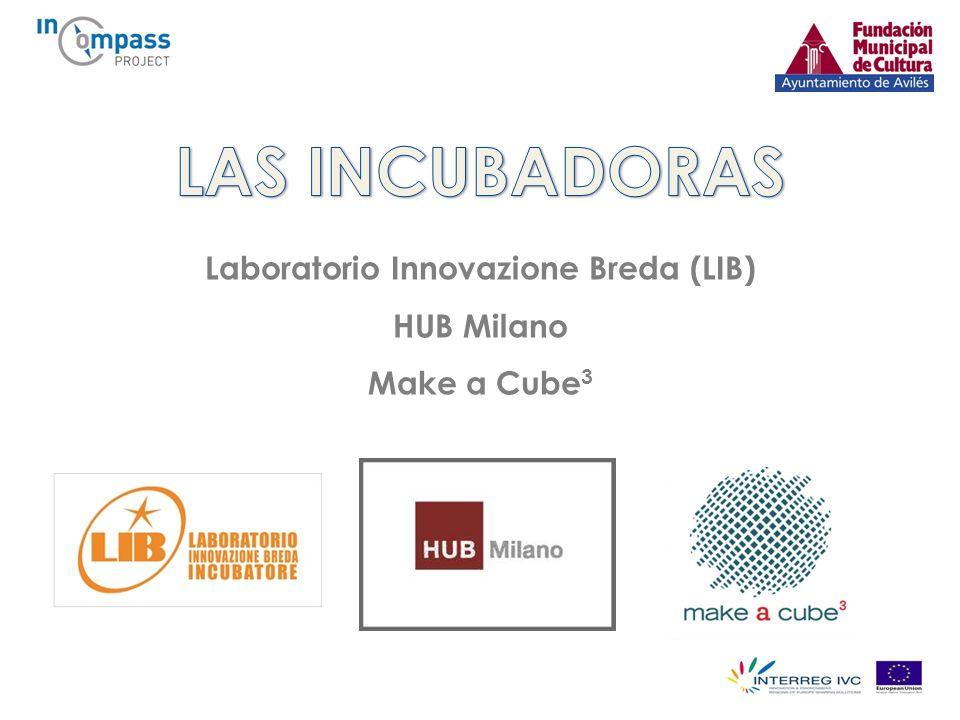 Laboratorio Innovazione Breda (LIB) HUB Milano Make a Cube 3