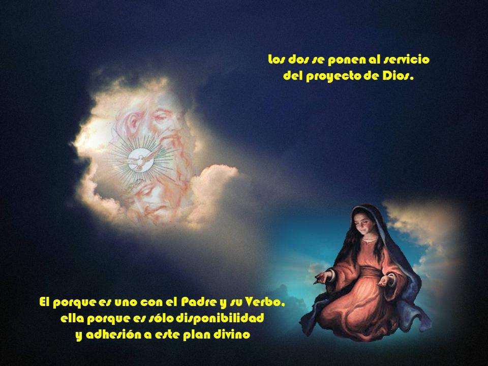 El acaba de trastornar su vida y la de José Y ella se abre al Acontecimiento como don de Dios. El es portador de la gracia de Dios y ella que ya está