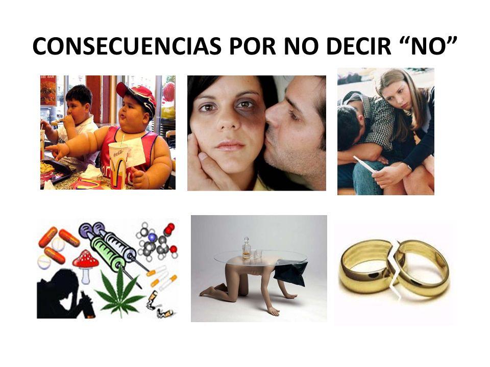 CONSECUENCIAS POR NO DECIR NO