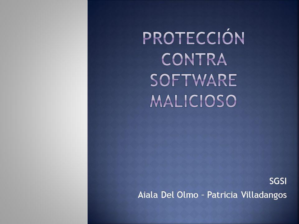 SGSI Aiala Del Olmo – Patricia Villadangos