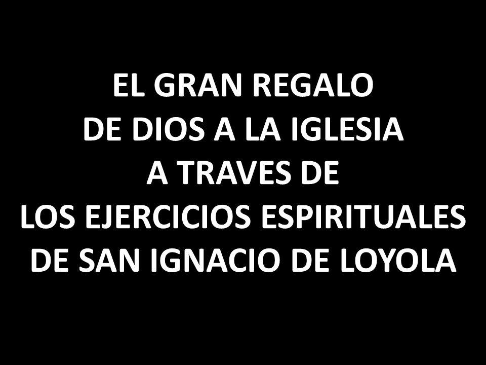 UNA SÍNTESIS, UN RECORRIDO POR LOS EJERCICIOS ESPIRITUALES DE SAN IGNACIO DE LOYOLA