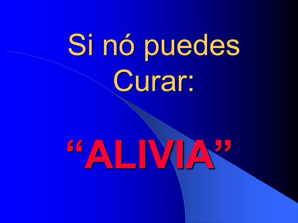 Si nó puedes Curar: ALIVIA