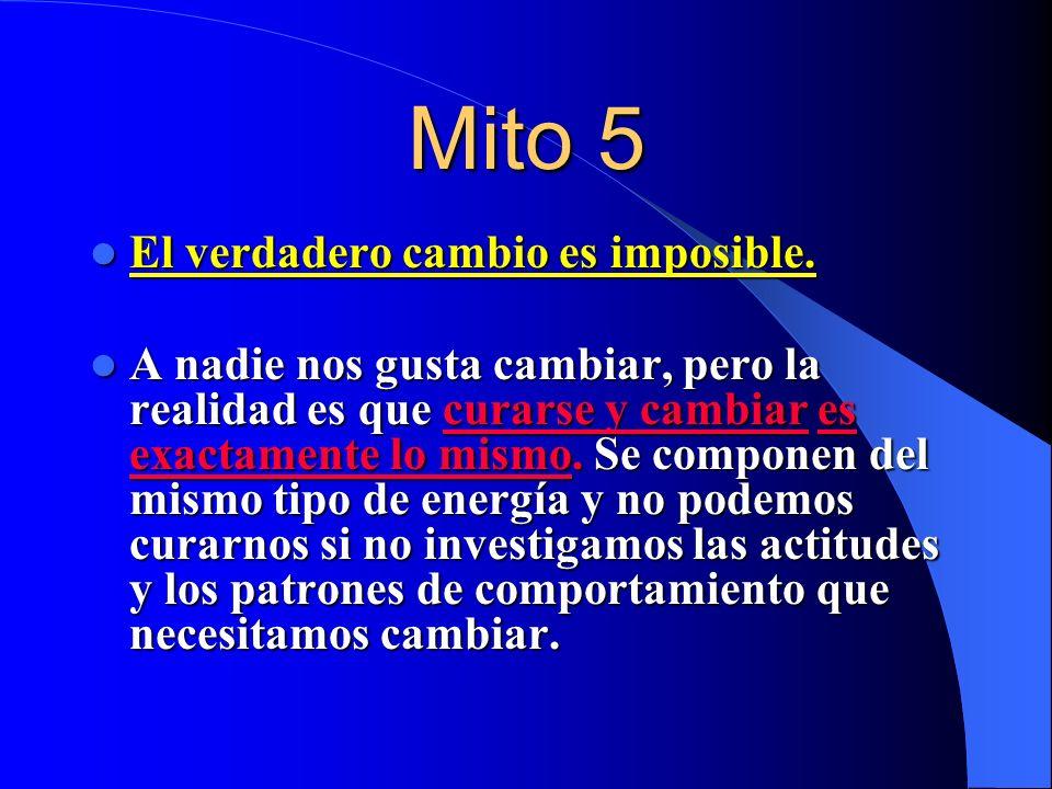 Mito 4 Las enfermedades son producto de la negatividad. Las enfermedades son producto de la negatividad. (CASTIGO de los dioses). Nuestros pensamiento