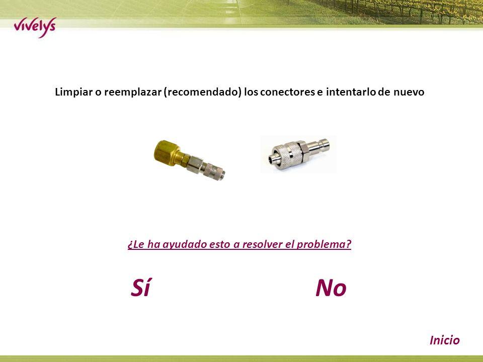Limpiar o reemplazar (recomendado) los conectores e intentarlo de nuevo ¿Le ha ayudado esto a resolver el problema.