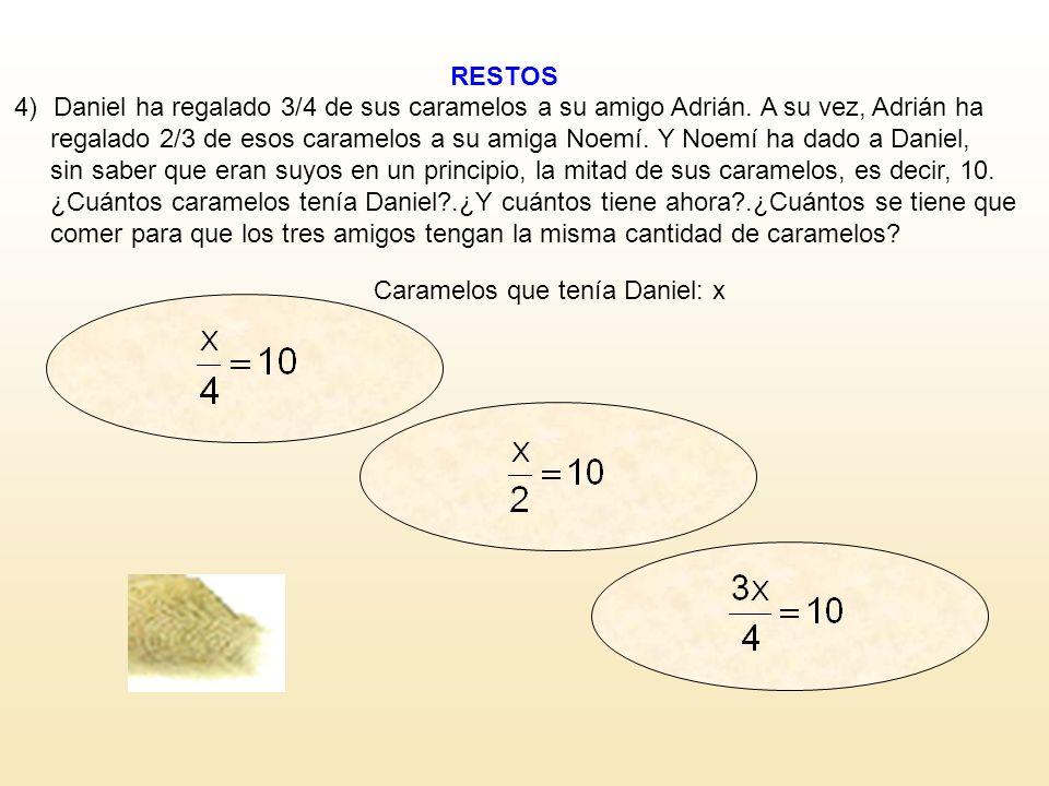 RESTOS SÍNO ¿SIGUES? Leonhard Euler (1707 – 1783) Estudié los poliedros simples y descubrí que se cumplía el Teorema de Euler: nº Caras + nº Vértices