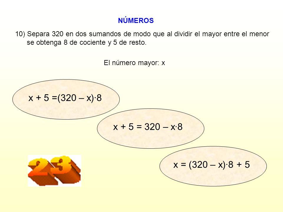 NÚMEROS Euclides (Grecia fl. 300 a.C.) SÍNO ¿SIGUES? También se me debe el algoritmo de Euclides, un método eficaz para calcular el m.c.d. entre dos n