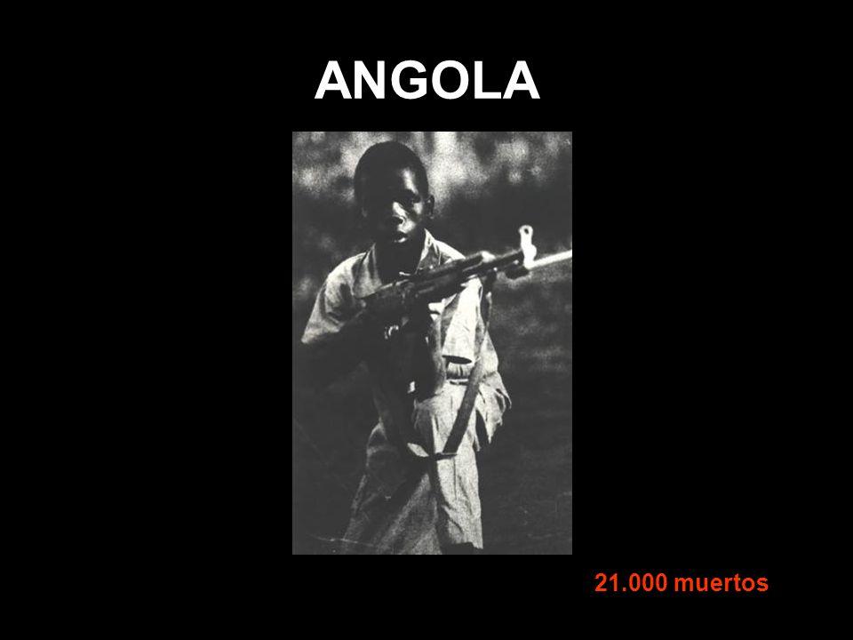 ANGOLA 21.000 muertos