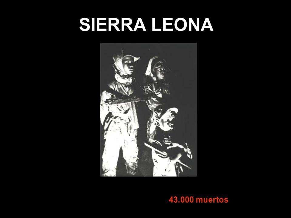 SIERRA LEONA 43.000 muertos