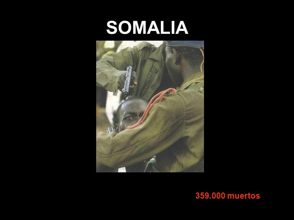SOMALIA 359.000 muertos
