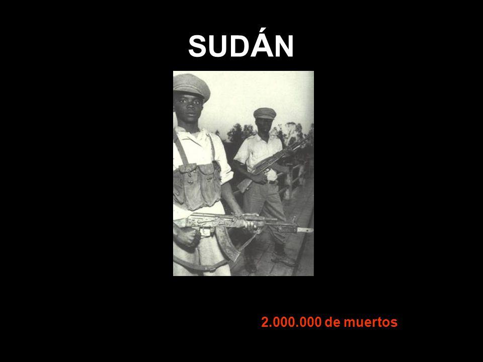 SUD Á N 2.000.000 de muertos