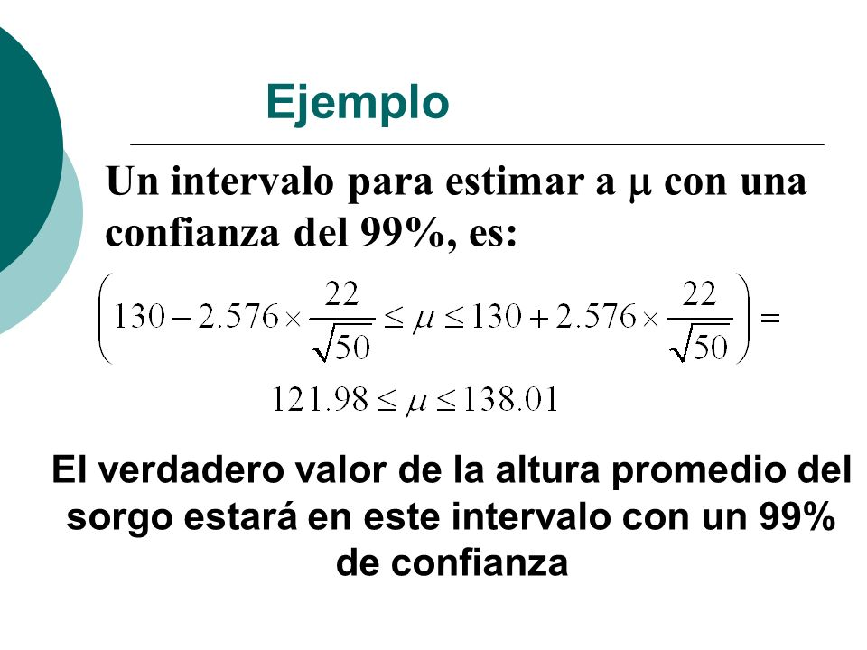 ClasificVariableGrupo(1)Grupo(2)n(1) Lecitinalts./dia{CON} {SIN} 9 n(2)media(1)media(2)LI(95%)LS(95%) 8 17,71 14,45 2,30 4,22 Varianza(1)Varianza(2)p(Var.Hom.) 0,75 0,97 0,7215 T gl p prueba 7,2515<0,0001Bilateral Prueba T - Muestras independientes Ejemplo suplemento con lecitina