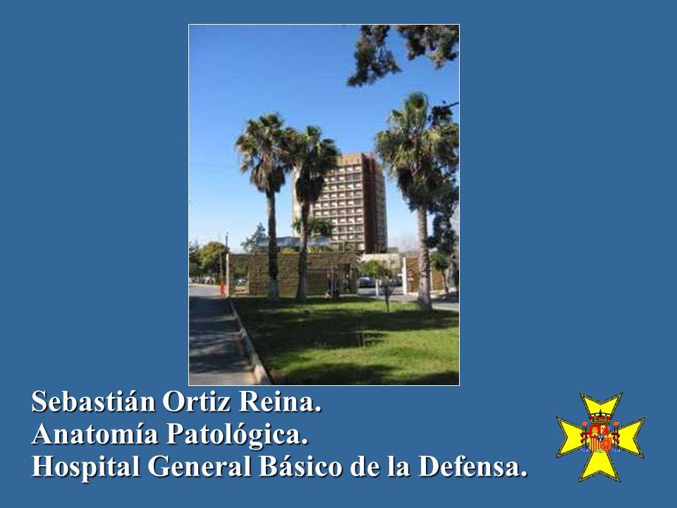 Sebastián Ortiz Reina. Anatomía Patológica. Hospital General Básico de la Defensa.