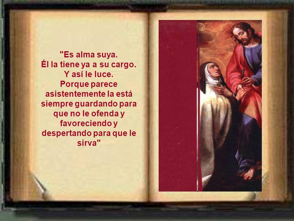 La acción de Dios sobre el místico (sobre Teresa) Es el hecho salvifico fundamental. Percibir esa acción divina es la quintaesencia de la experiencia